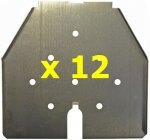 DN2 - Set of Sub-Floor Trays - (Made In USA)