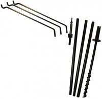 FP5TER - 5 Piece Feeder Pole Set - 3 Extended Reach Arms - USA