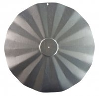 SB5GLV - Hanging Disk Squirrel Baffle - Galvanized Finish - USA