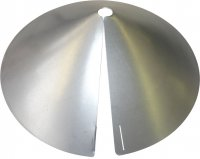 SB8GLV - Cone Squirrel Baffle / Guard-Galvanized - USA