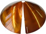 SB8C - Cone Squirrel Baffle /Squirrel Guard - Copper Tint (USA)