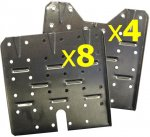 DN1 - Set of Sub-Floor Trays - (Made In USA)