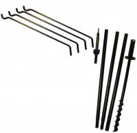 FP5TER4 - 5 Piece Feeder Pole Set 4 Extended Reach Arms - USA